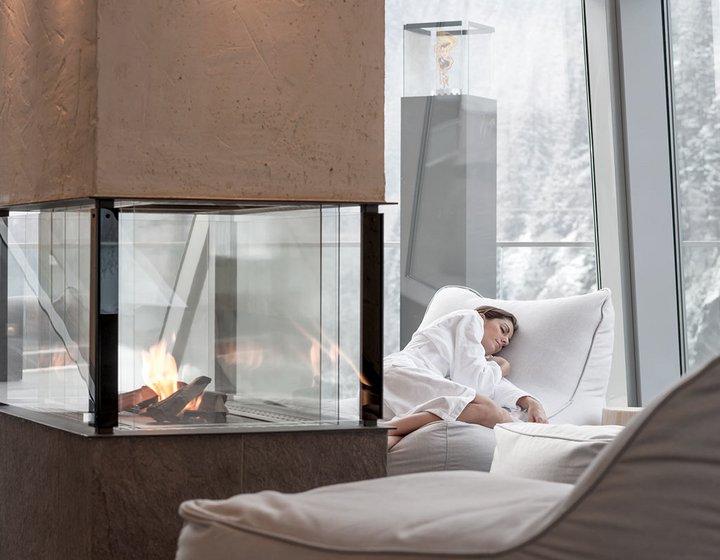 Wellness & Sauna at Aqua Dome Thermal Spa in Längenfeld